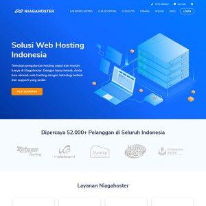 Fakta Hosting - Homepage Niagahoster