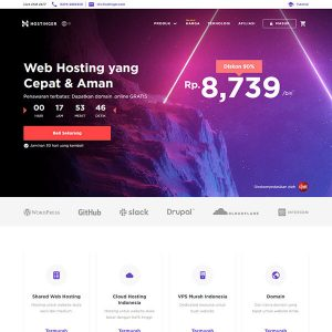 Fakta Hosting - Homepage Hostinger