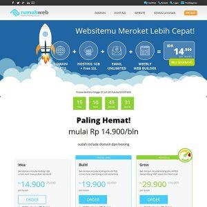 Fakta Hosting - Homepage Rumah Web