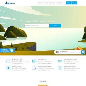 Fakta Hosting - Homepage Domainesia
