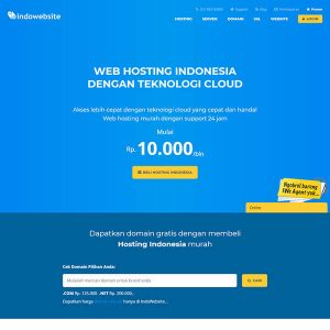 Fakta Hosting - Homepage Indowebsite