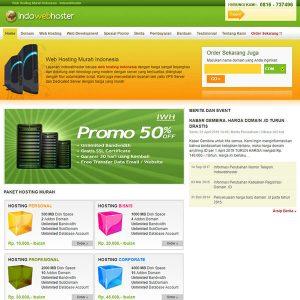 Fakta Hosting - Homepage Indowebhoster