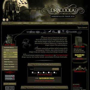 Fakta Hosting - Homepage Dracoola