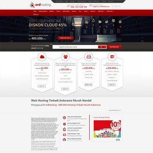 Fakta Hosting - Homepage Ardhosting