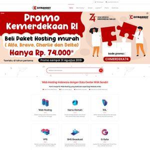 Fakta Hosting - Homepage Citrahost