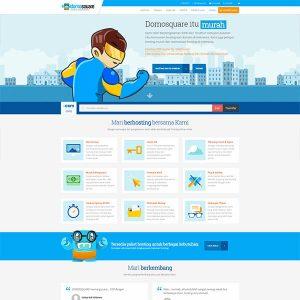 Fakta Hosting - Homepage Domosquare