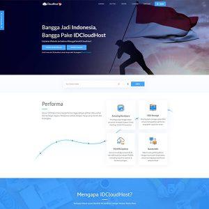 Fakta Hosting - Homepage Idcloudhost